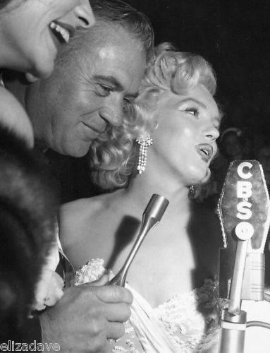 George and Marilyn behind CBS mic.jpg