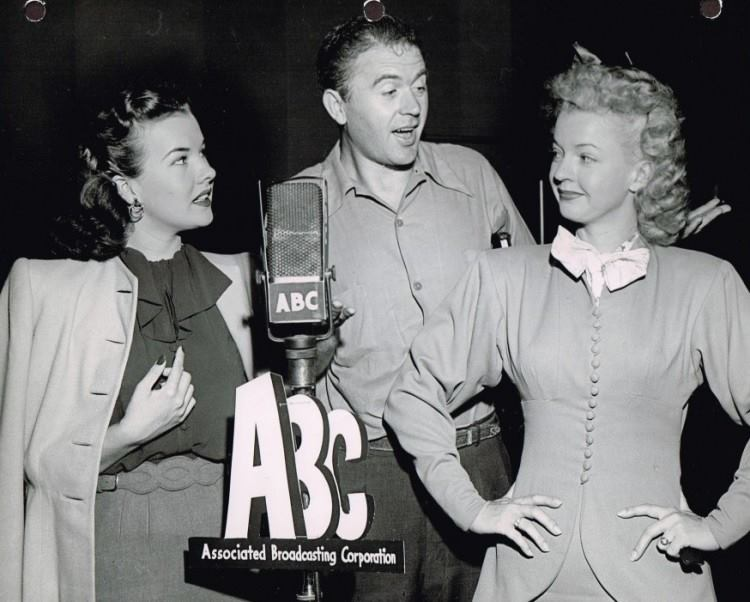 George with Gale Storm and Dale Evans.jpg