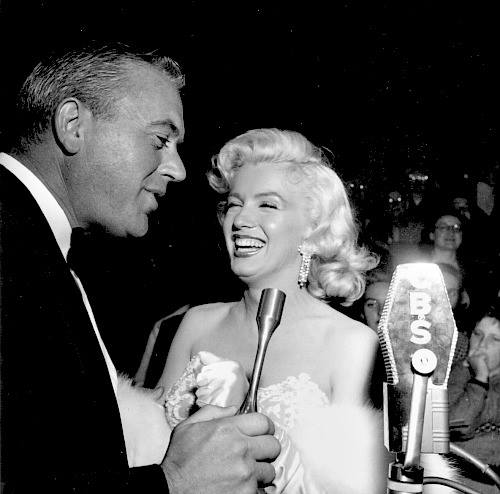 George with Marilyn at premier of How To Marry a Millionaire 1954.jpg
