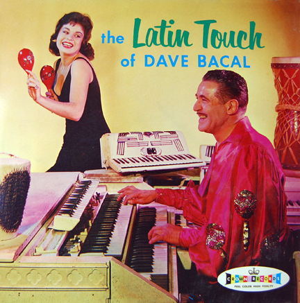 Dave Bacal_The Latin Touch of Dave Bacal_LP_front