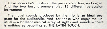 Dave Bacal_The Latin Touch of Dave Bacal_LP_notes3